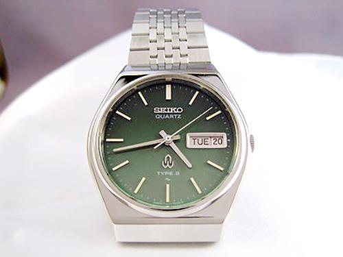 ガラスを交換した腕時計