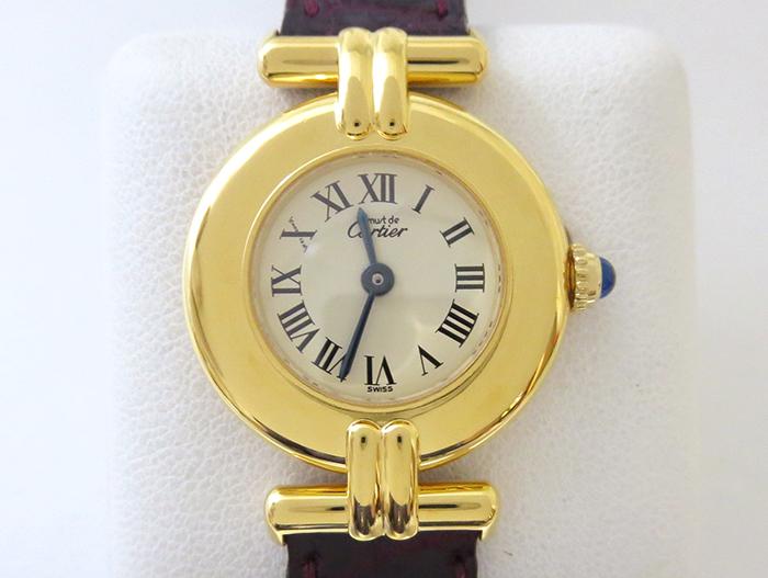 磨かれて綺麗になった腕時計